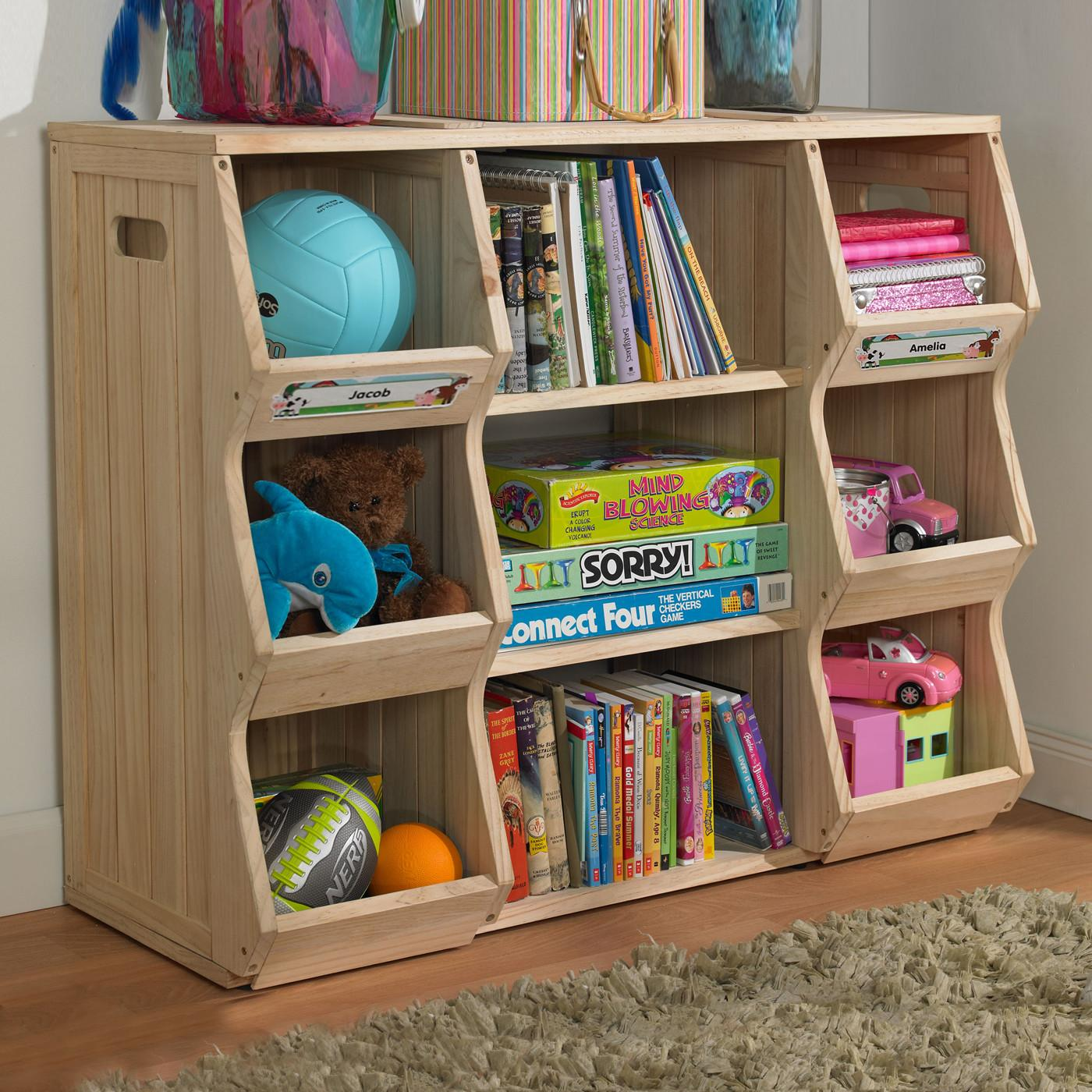 Merry Products Slf Children Bookshelf Cubby