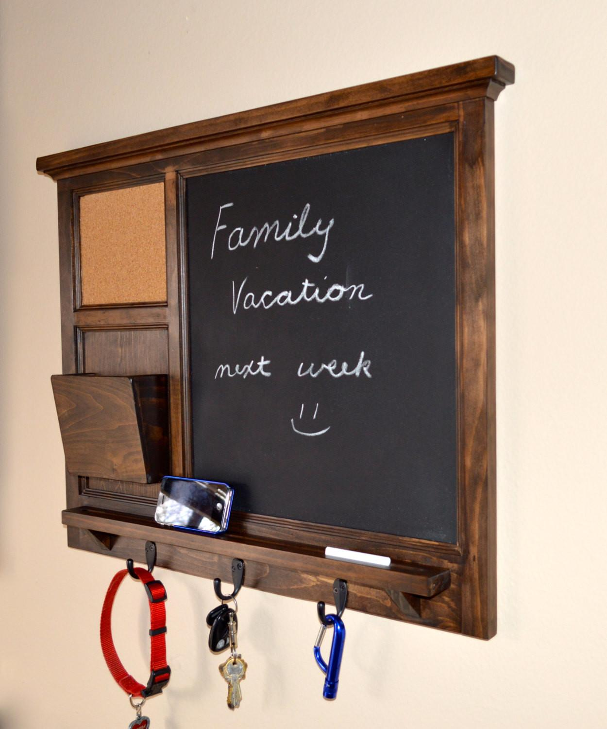 Mesmerizing Chalkboard Key Holder Design Created
