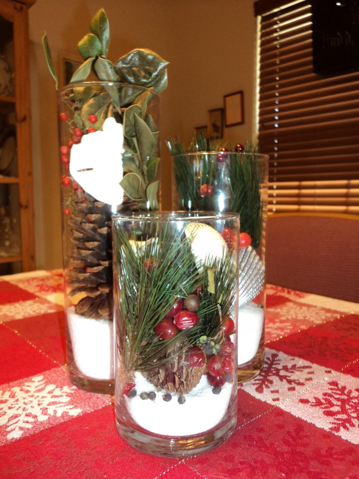 Mesmerizing Christmas Table Decorations Red White