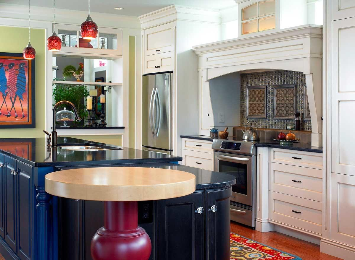 Mesmerizing Eclectic Mix Custom Kitchen Designs