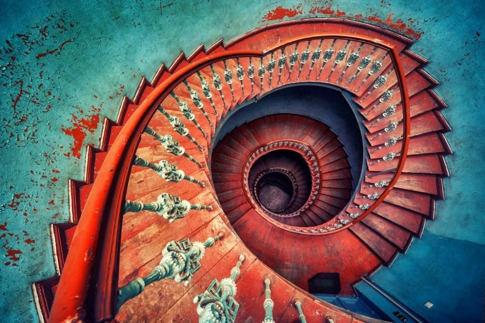 Mesmerizing Examples Spiral Staircase Photography