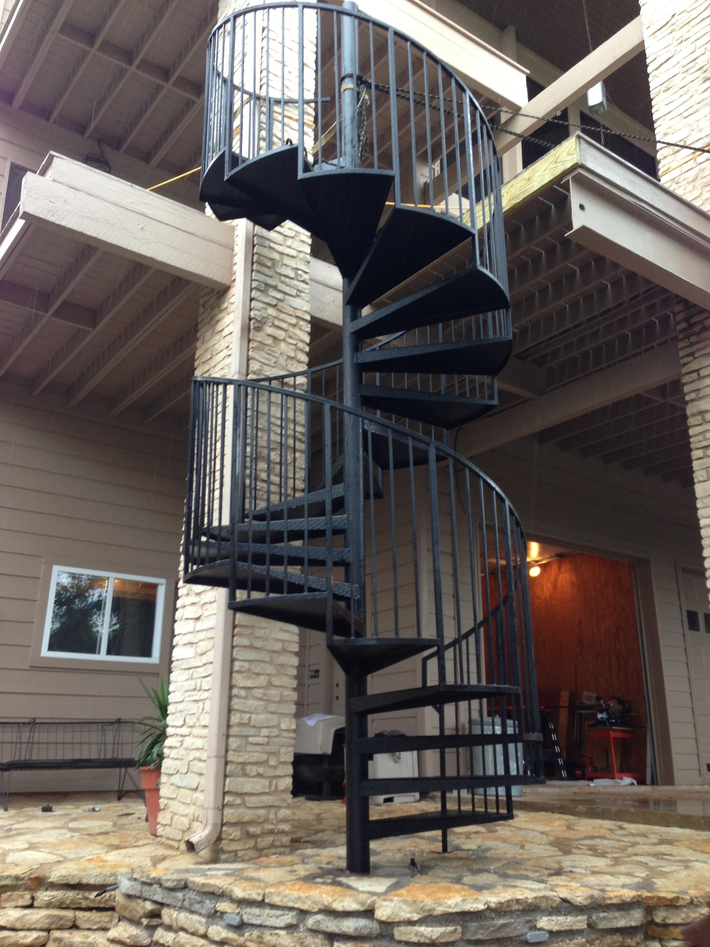 Metal Spiral Staircases Design Your House Its Good