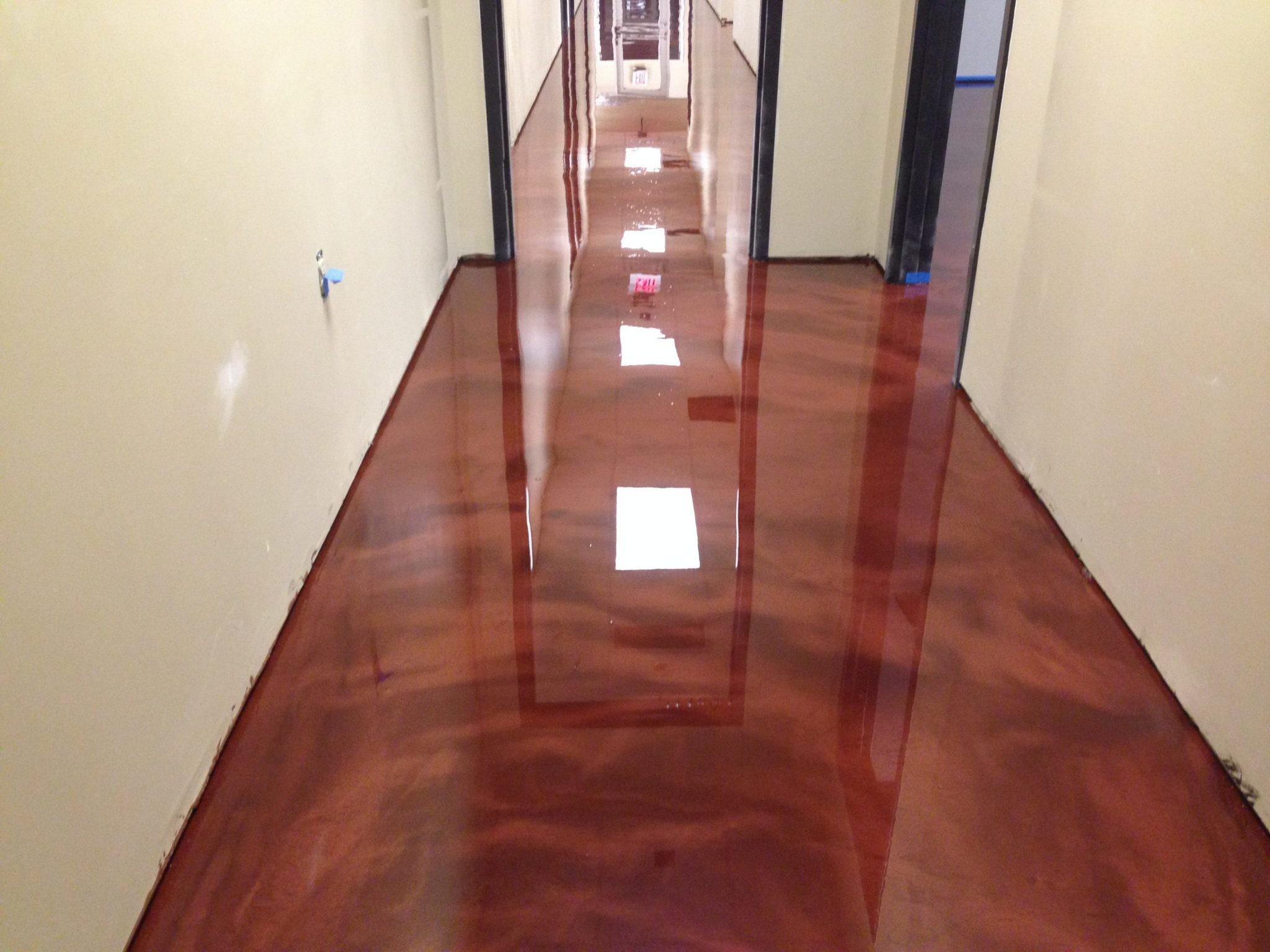 Metallic Floor Setting New Trend 2017 Surecrete