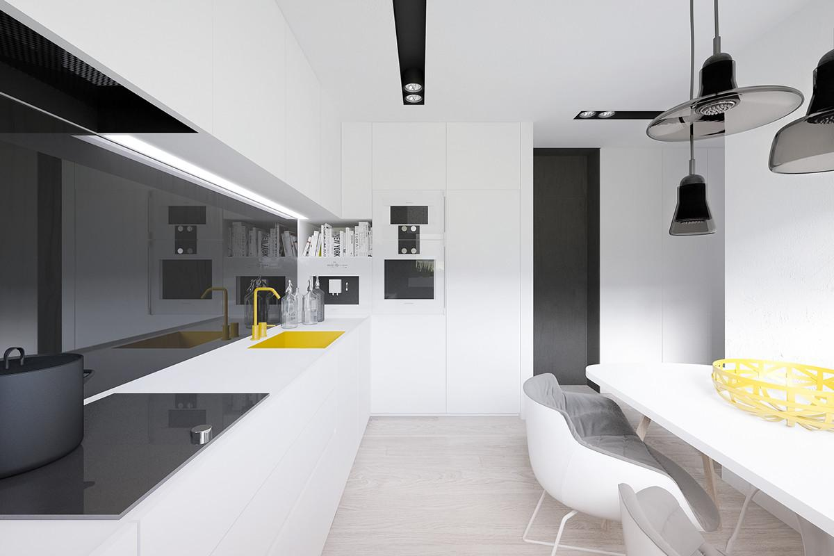 Meter Space Saving Apartment Layout Young Family