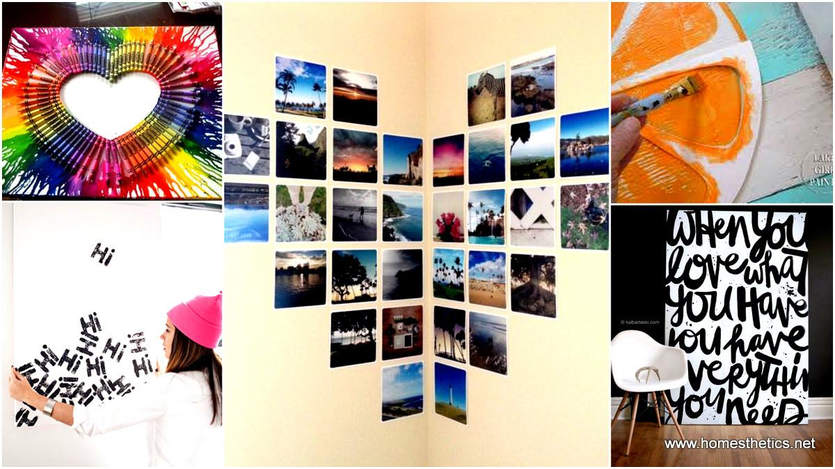 Methods Beautifying Your Blank Walls Diy Wall Art