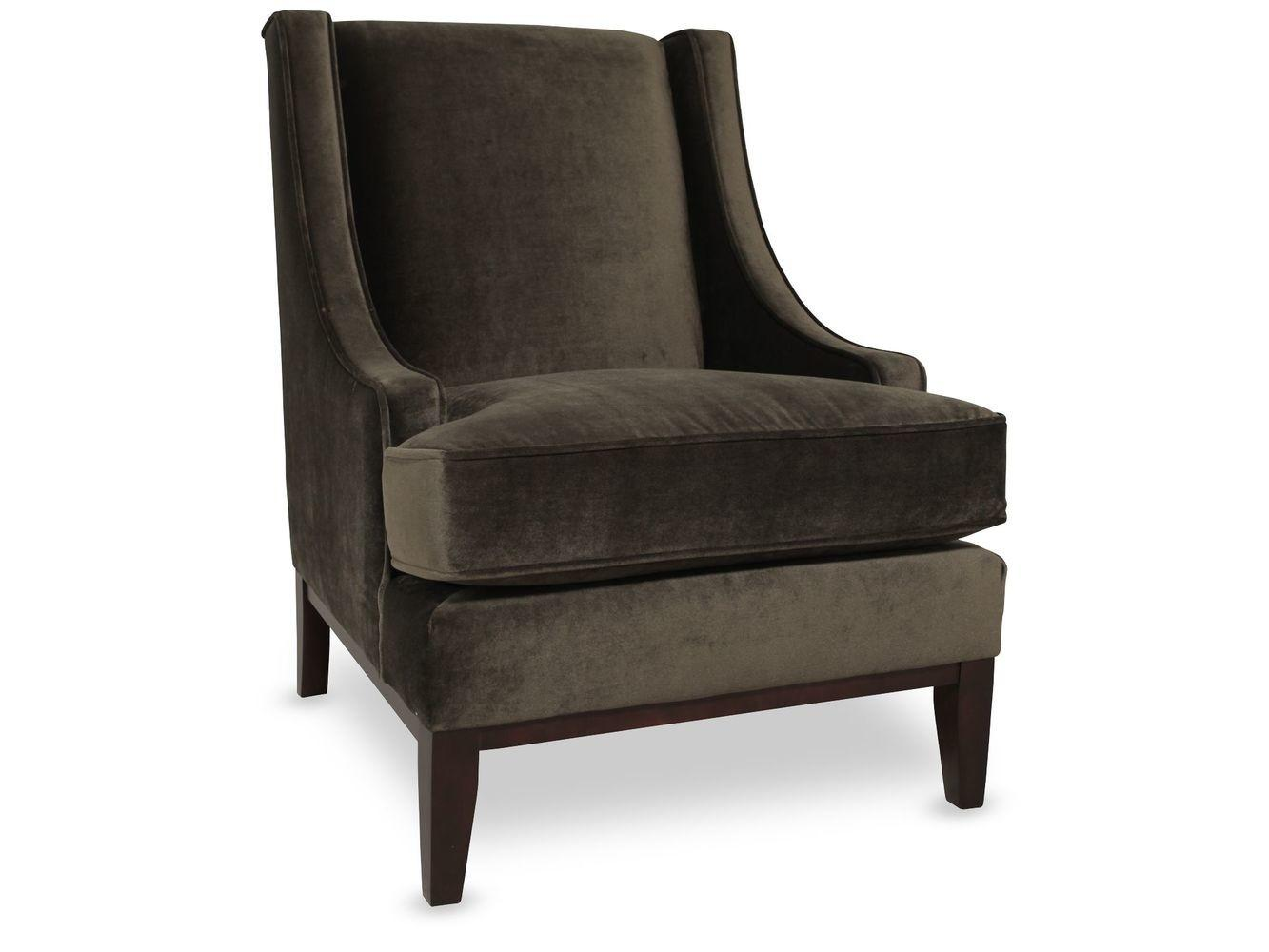 Metropolitan Velvet Chair Dark Olive Mathis