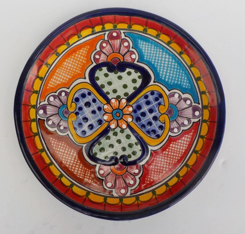 Mexican Pottery Decorative Wall Decor Dinner Plate
