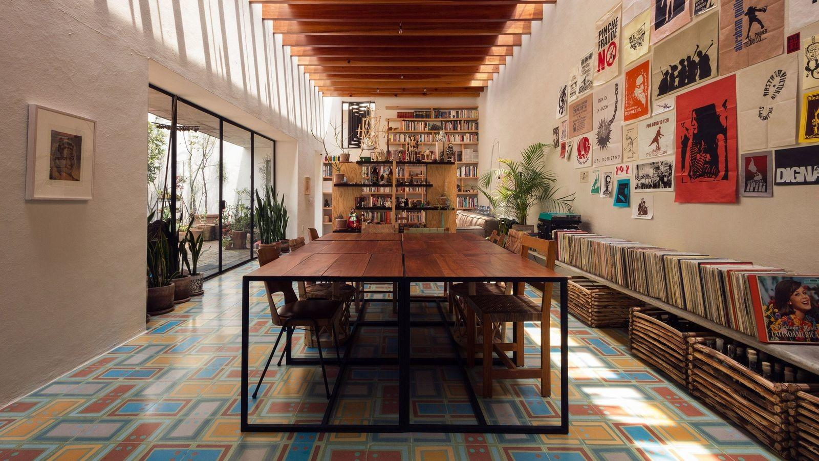 Mexico City Artist Residence Gets Dreamy Renovation Curbed