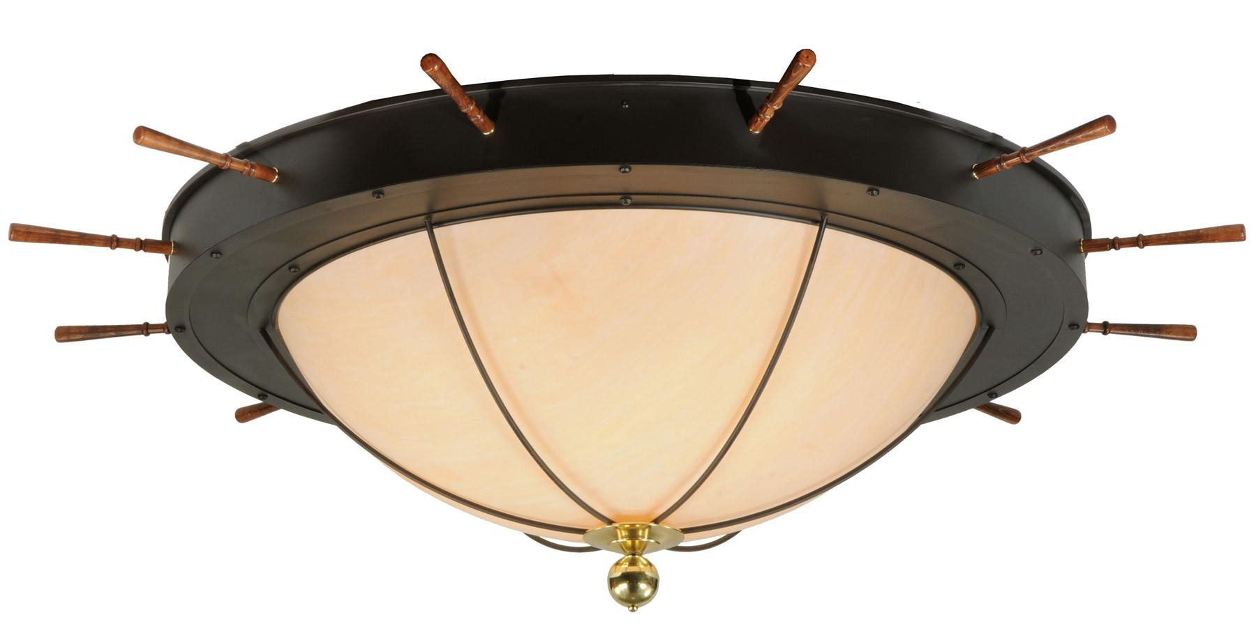 Meyda Nautical Flush Mount Ceiling Fixture