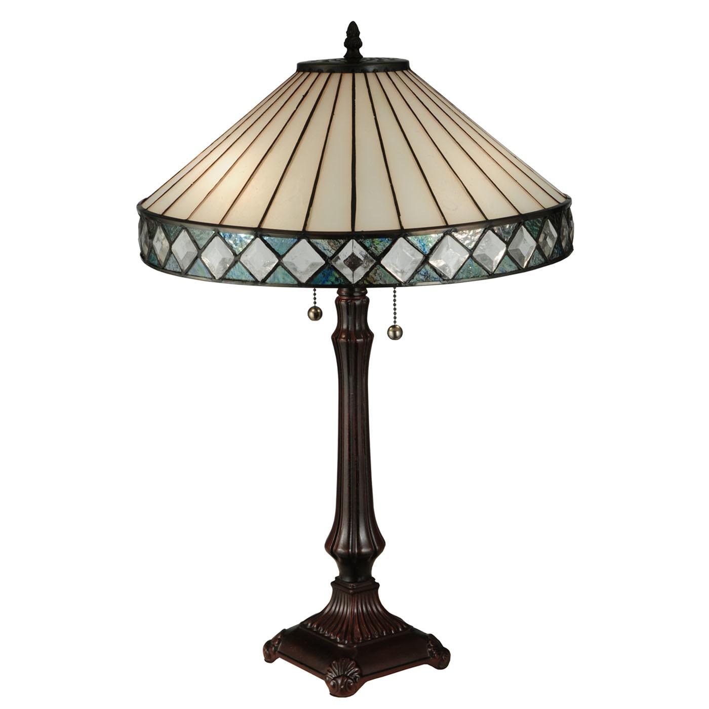 Meyda Tiffany Diamond Ring Light Table Lamp Atg