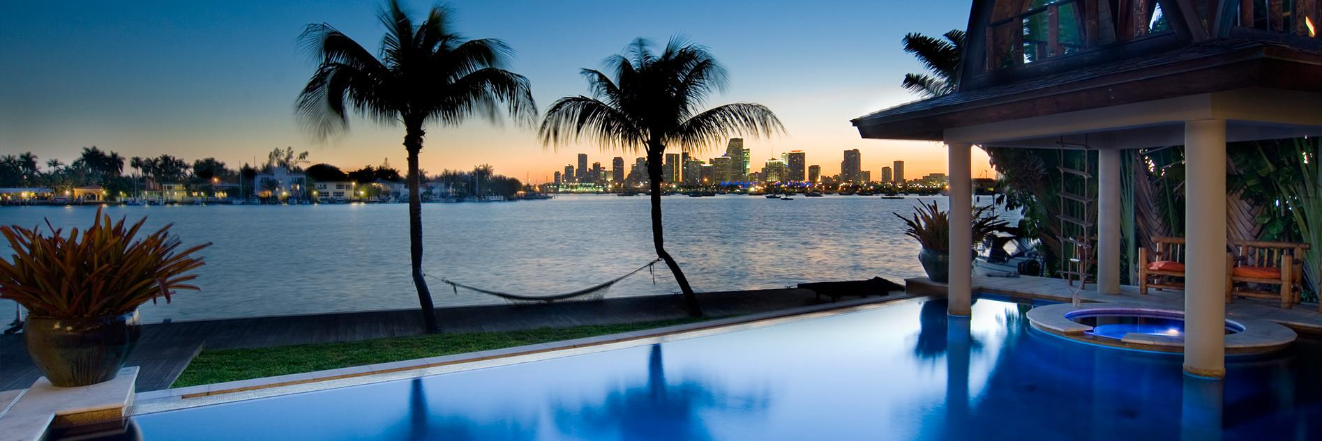 Miami Beach Luxury Real Estate Waterfront