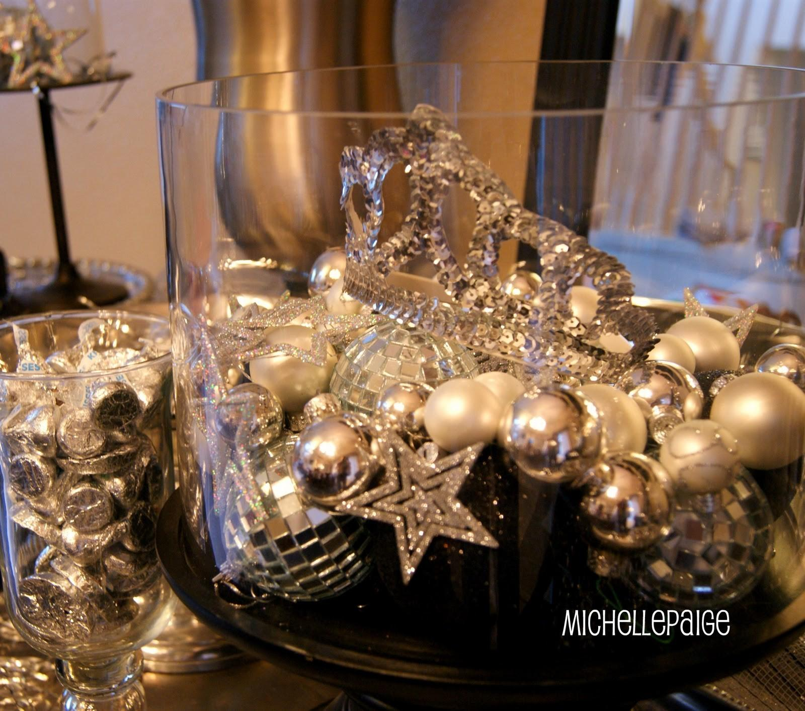 Michelle Paige Blogs New Year Eve Decor