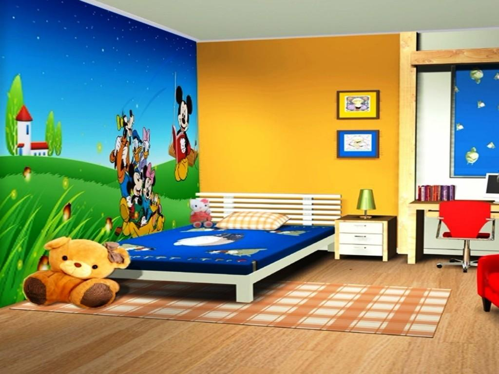 Mickey Mouse Bedroom Design Ideas