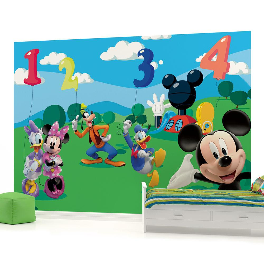 Mickey Mouse Girls Kids Childrens Wall