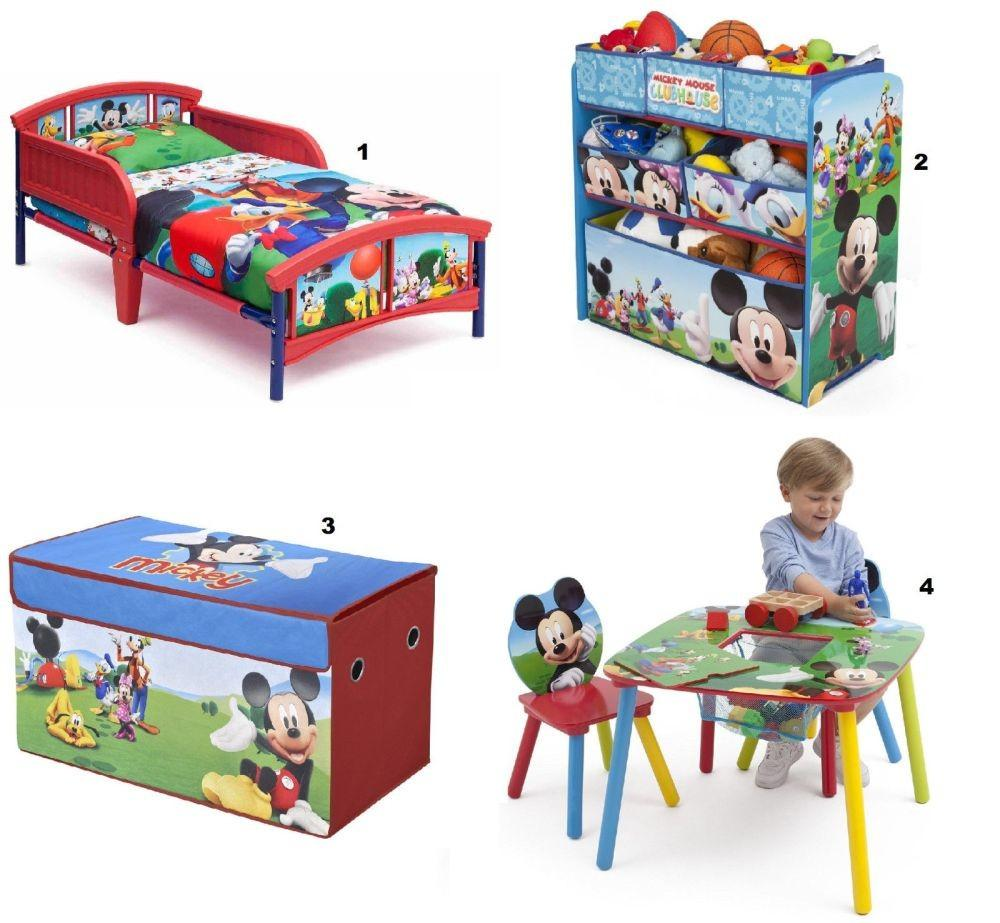 Mickey Mouse Toddler Bedroom Home Design Ideas