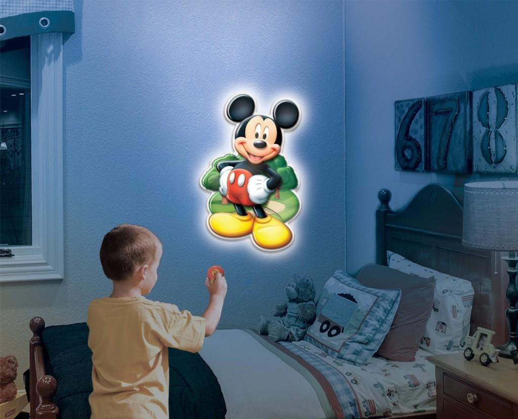 Mickey Mouse Wall Friends Talking Room Light