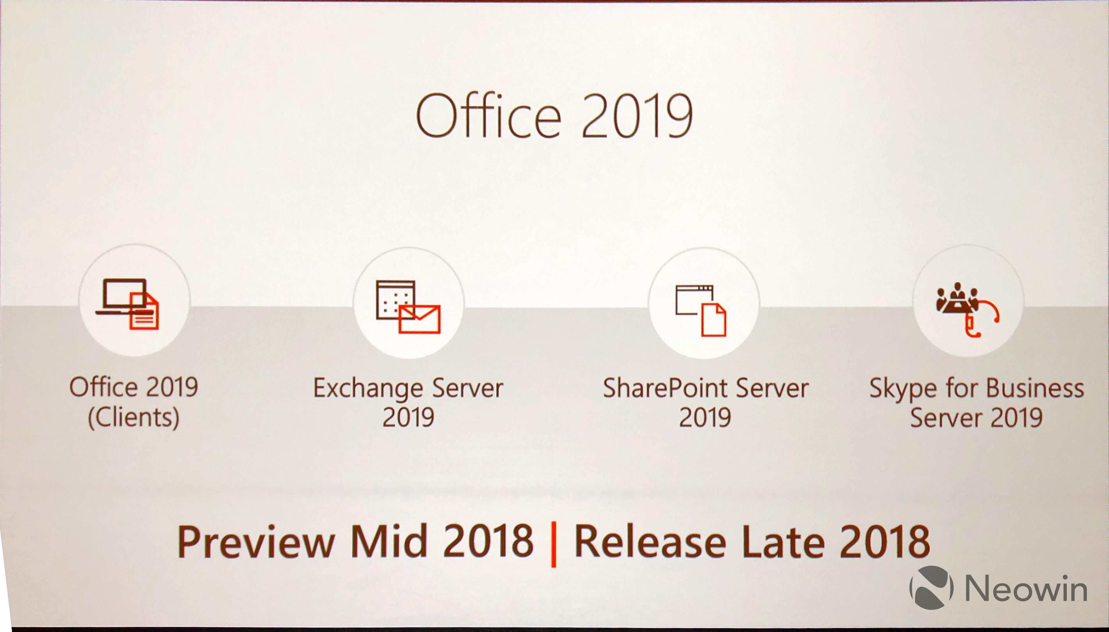 Microsoft Announces Office 2019 Its Ignite Conference