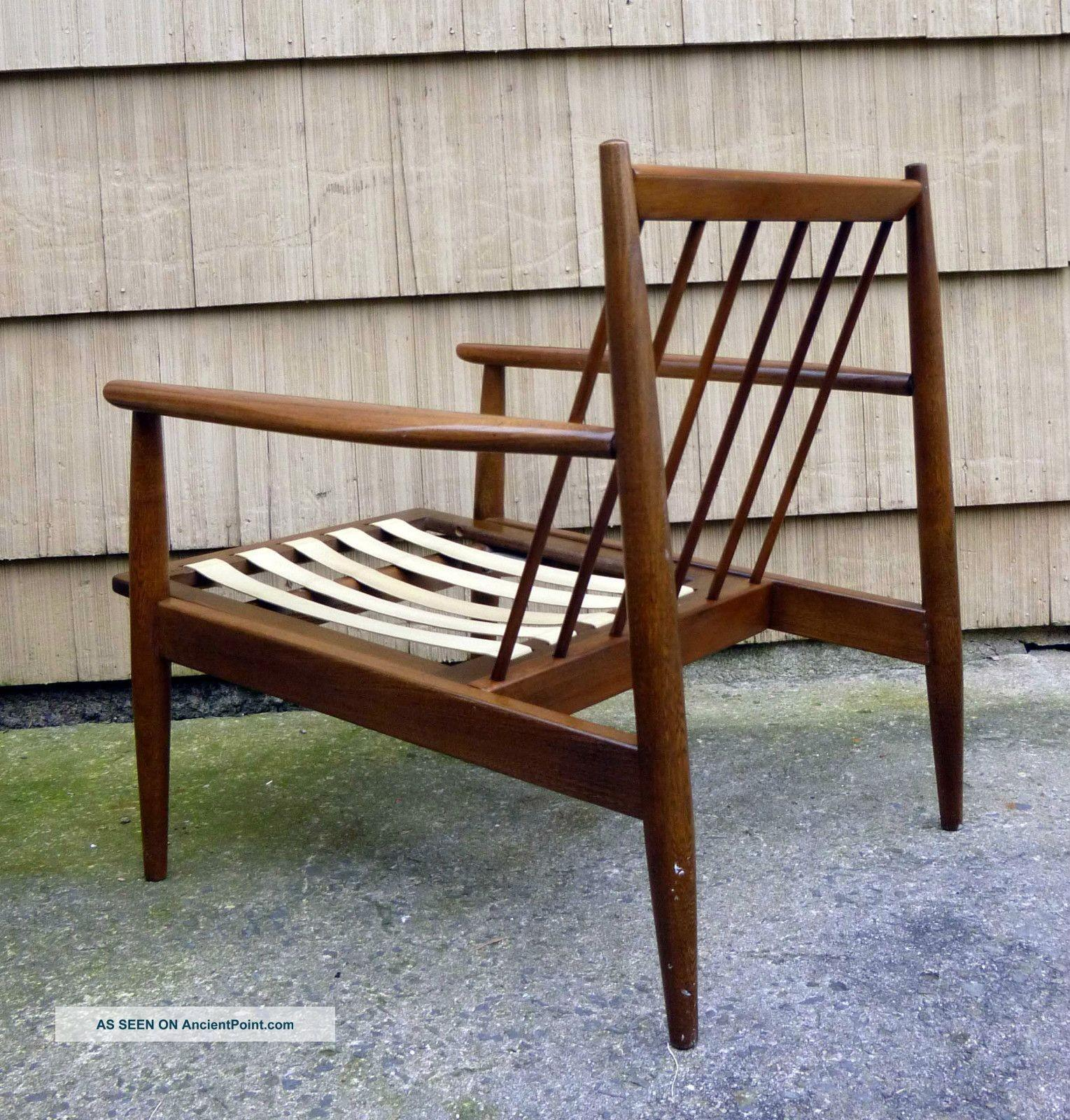 Mid Century Armless Chairs Arm Chair Iconic