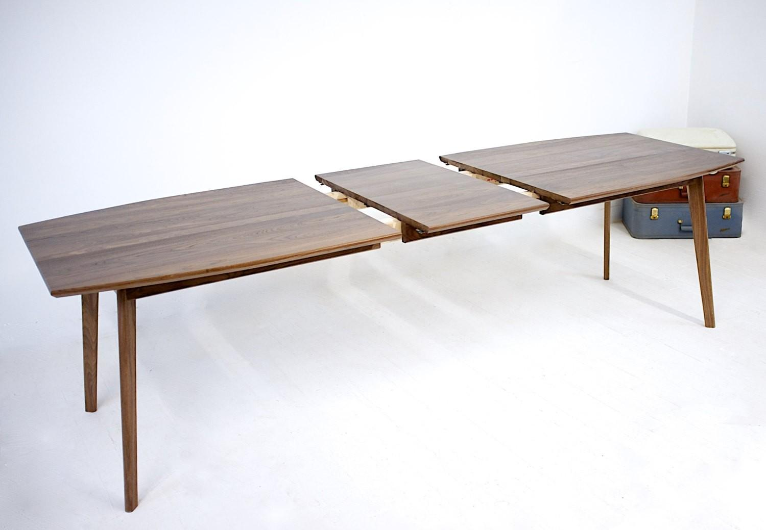 Mid Century Modern Dining Table Extension