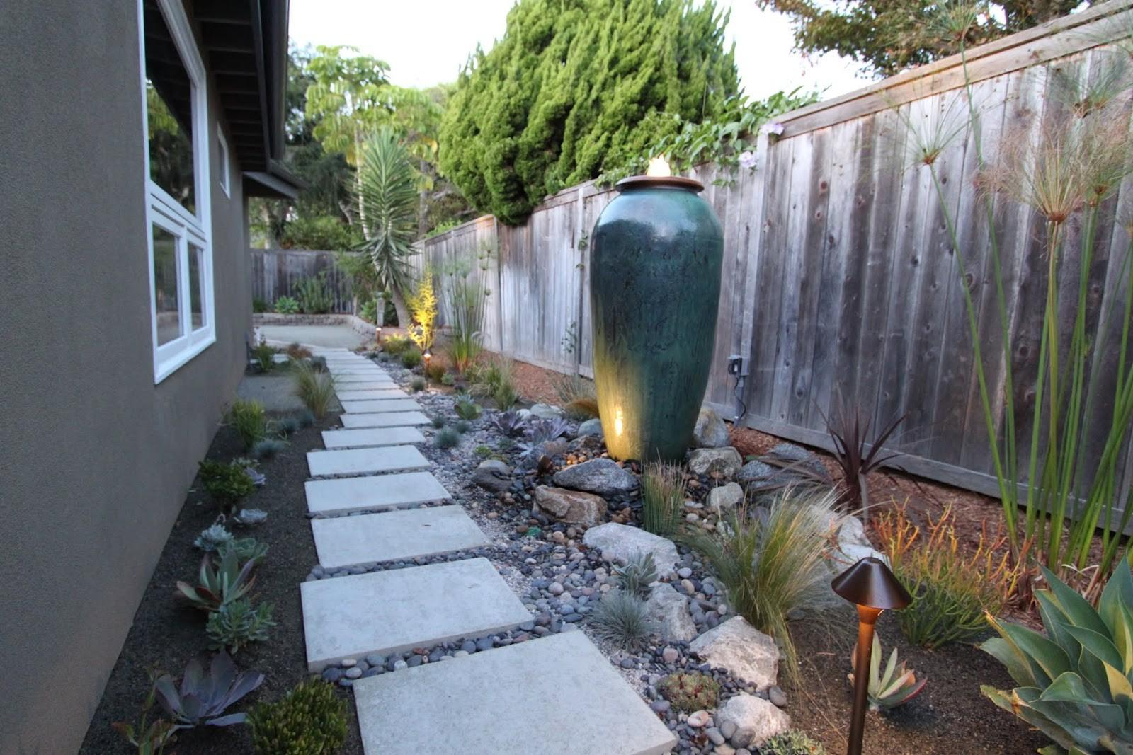 Mid Century Modern Drought Tolerant Landscaping