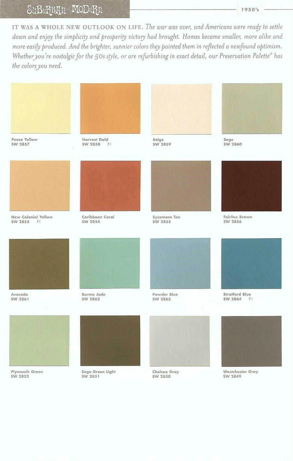 Mid Century Modern Exterior Color Schemes Joy Studio Decoratorist 109588