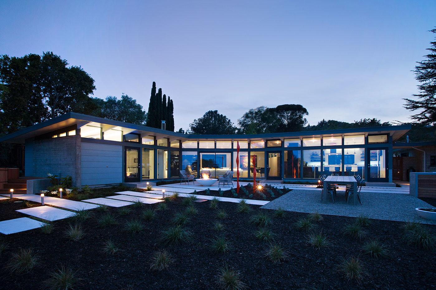 Mid Century Modern House Remodel Klopf Architecture
