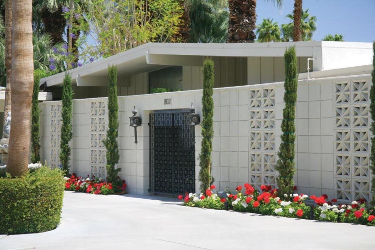Mid Century Modern Houses Palm Springs Old House