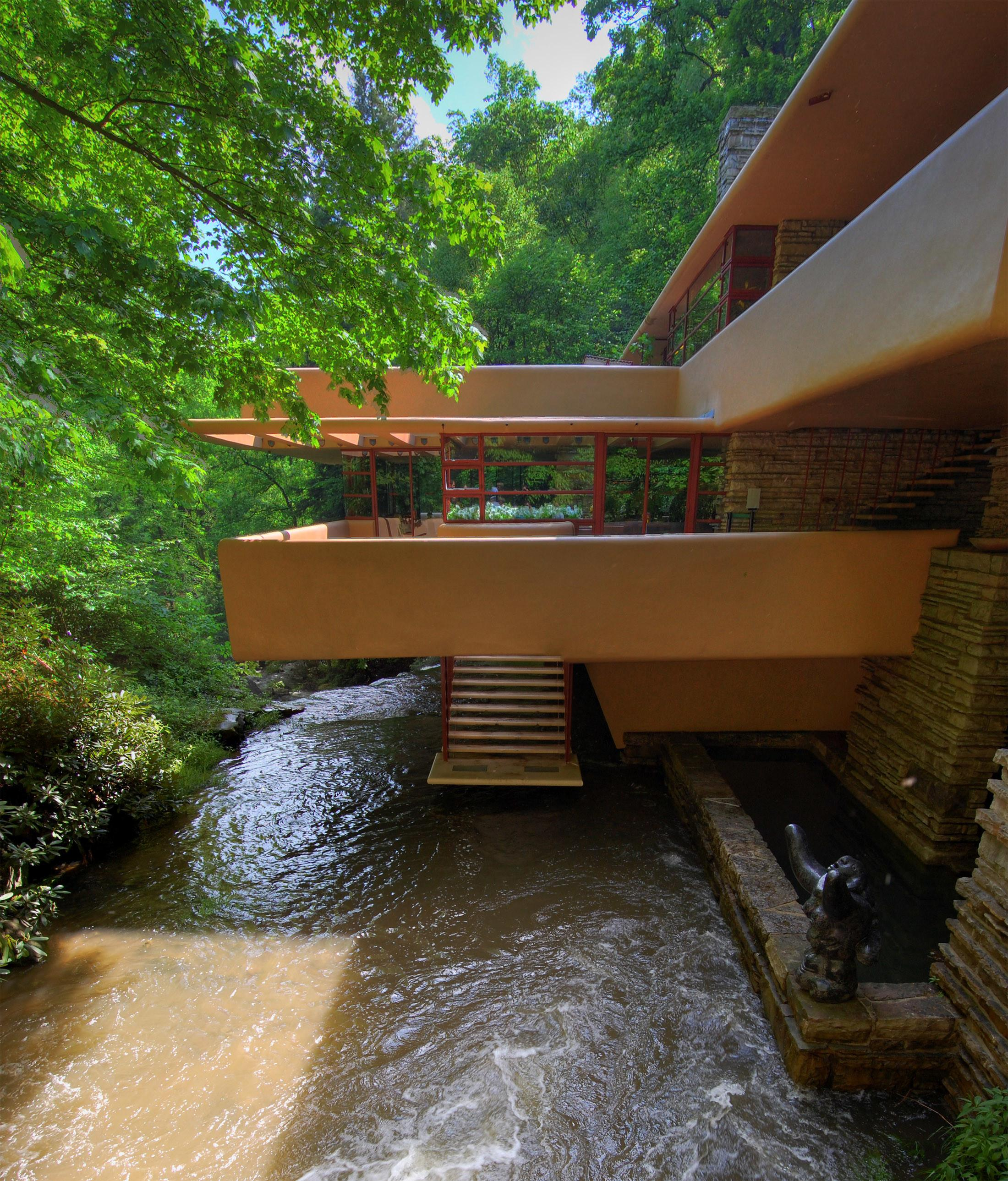 Mid Century Modern Icons Falling Water House Frank