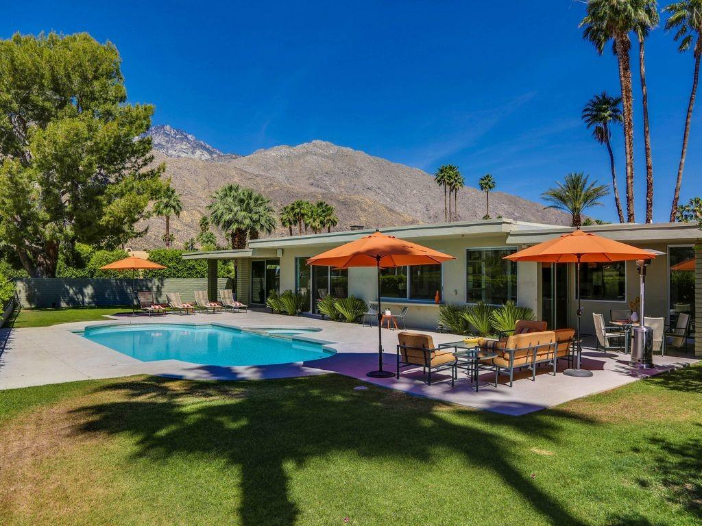 Mid Century Modern Indian Canyon Golf Course Fabulous