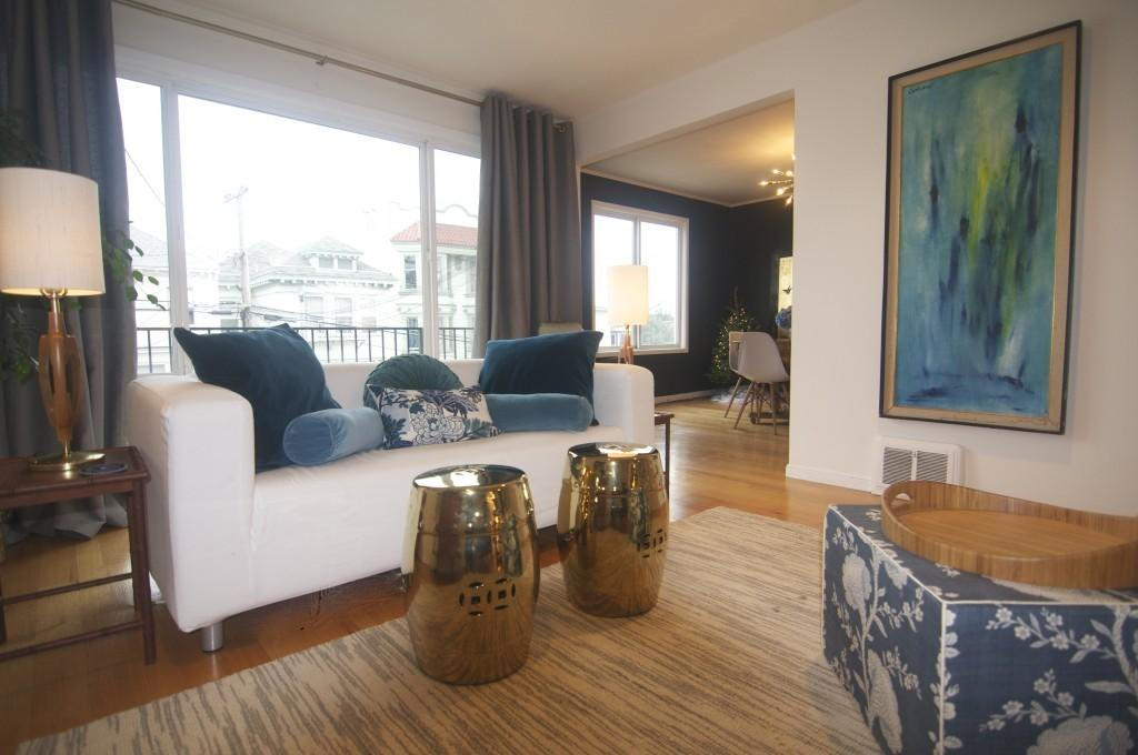 Mid Century Modern Meets Chinoiserie Chic Four Walls