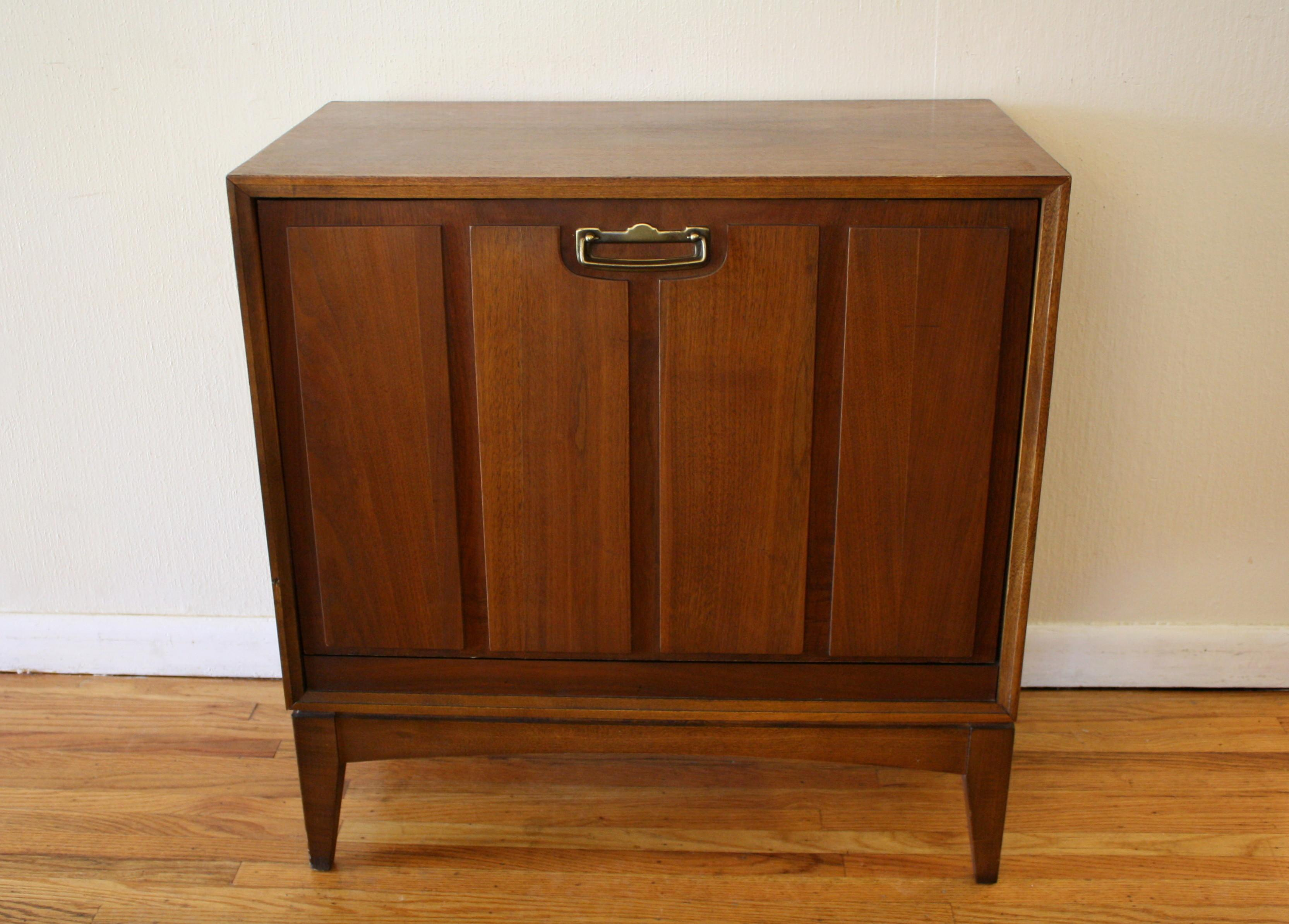 Mid Century Modern Record Cabinet Lane Picked Vintage