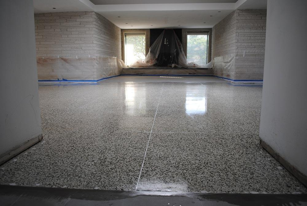 Mike Lindsey Restore Refinish Their Terrazzo
