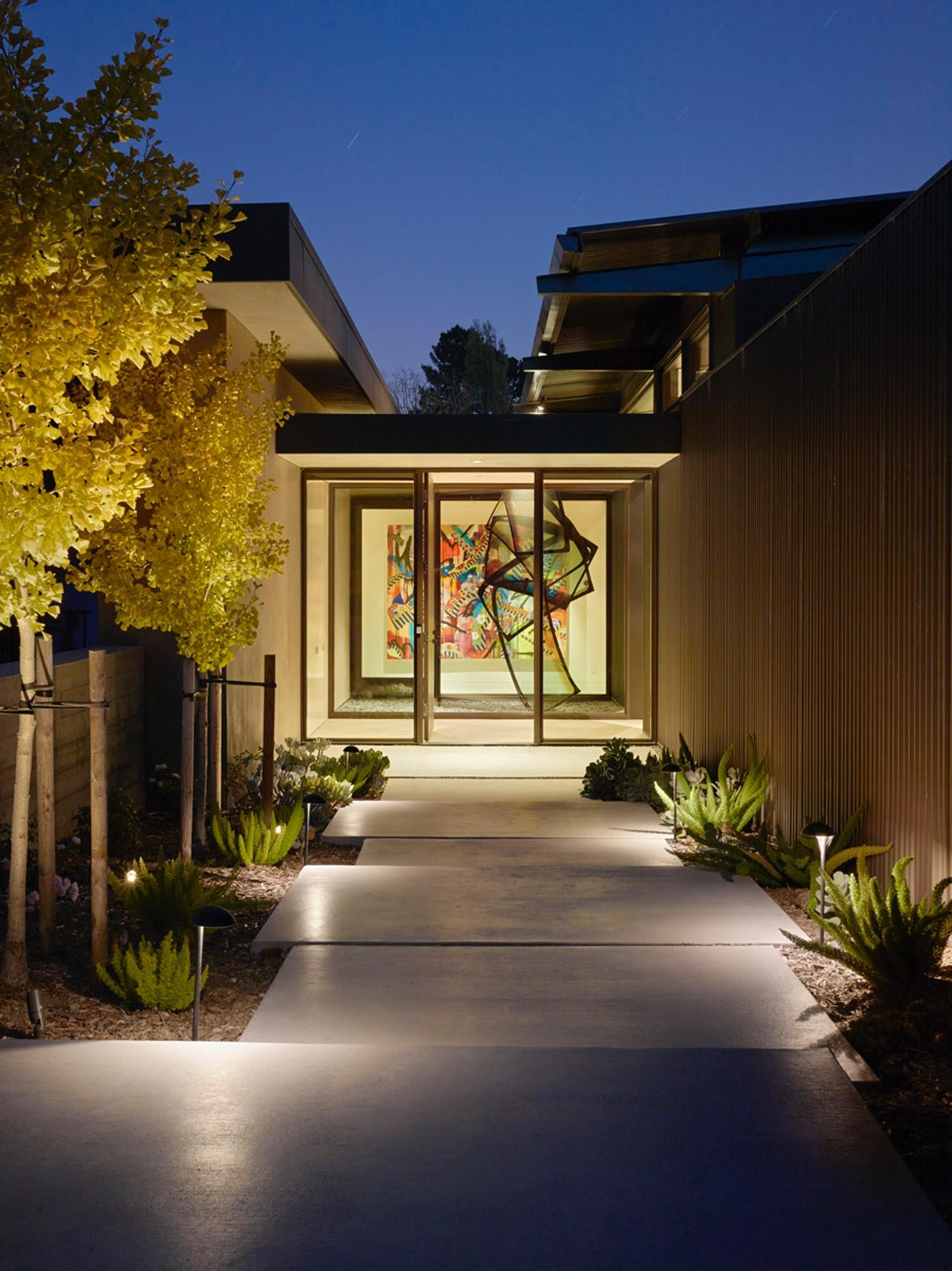 Mill Valley Courtyard Residence Architizer