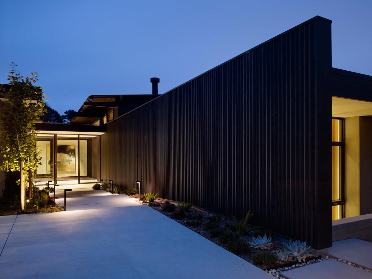 Mill Valley Courtyard Residence Behance