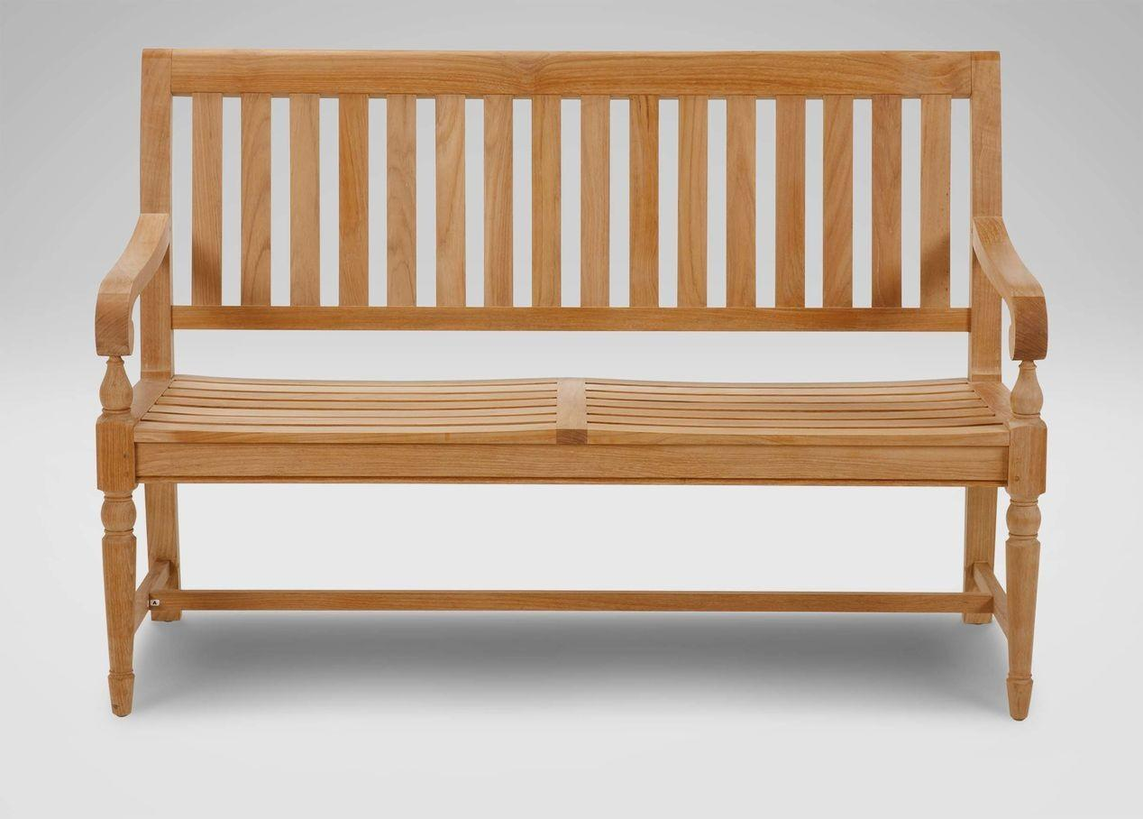 Millbrook Wood Seat Garden Bench Collection