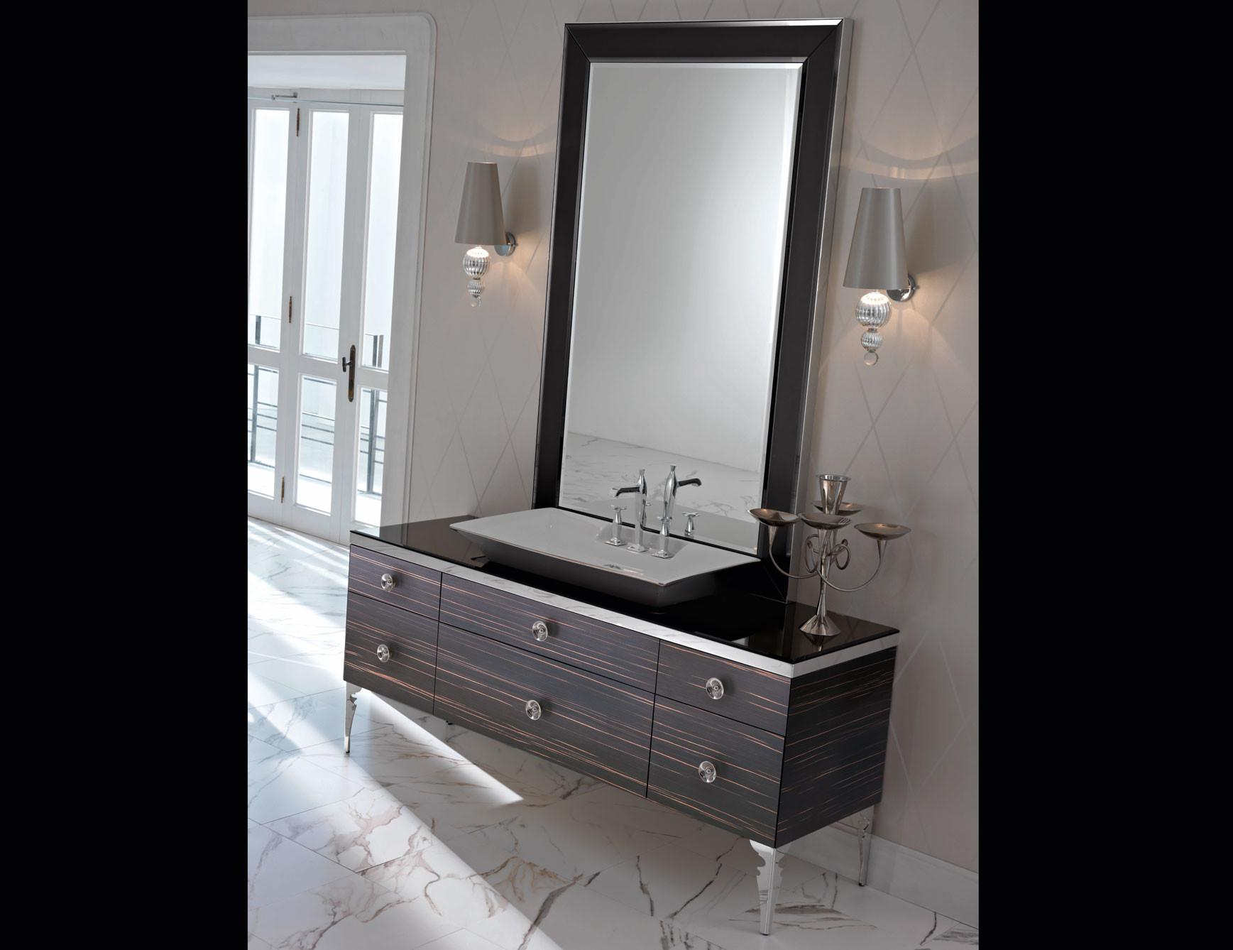 Milldue Majestic Ebony Wood High End Italian Bathroom