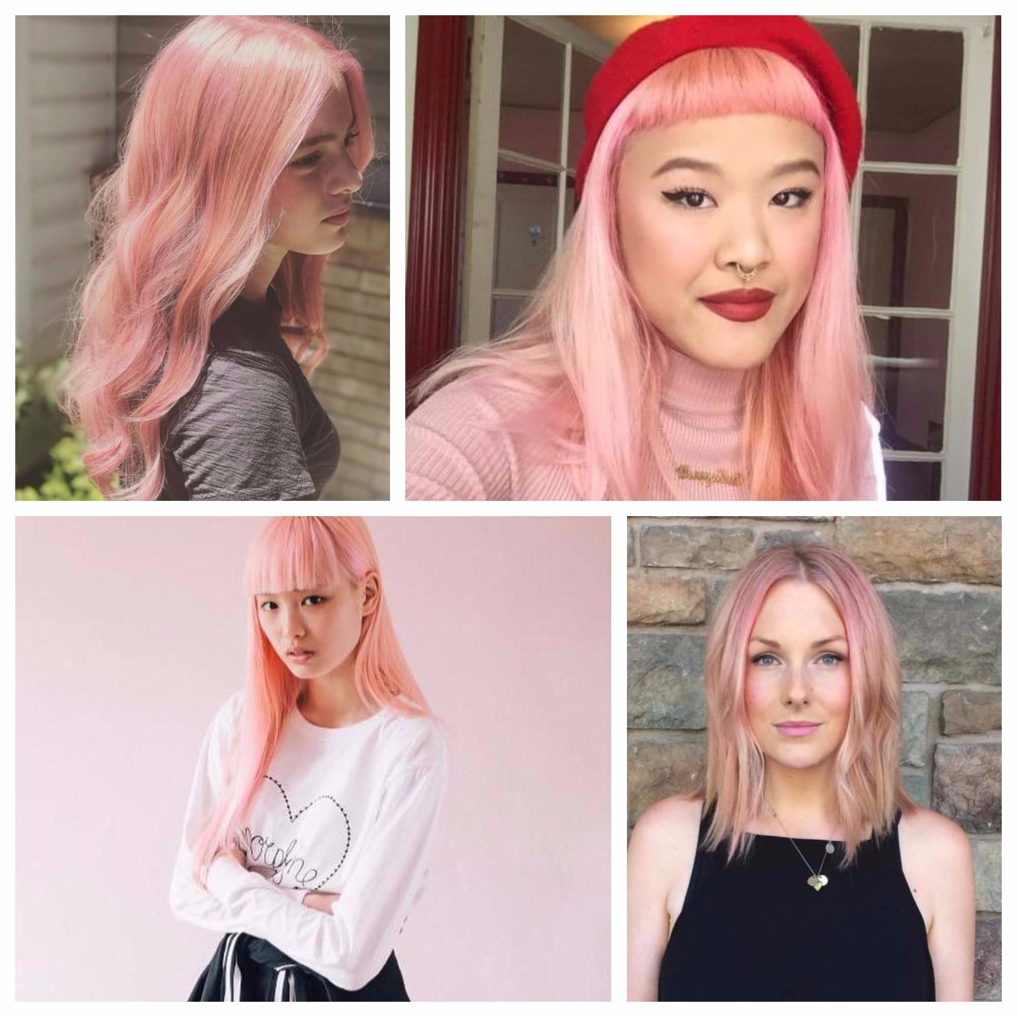 Millennial Pink Hair Color Hottest Trend 2018 Best