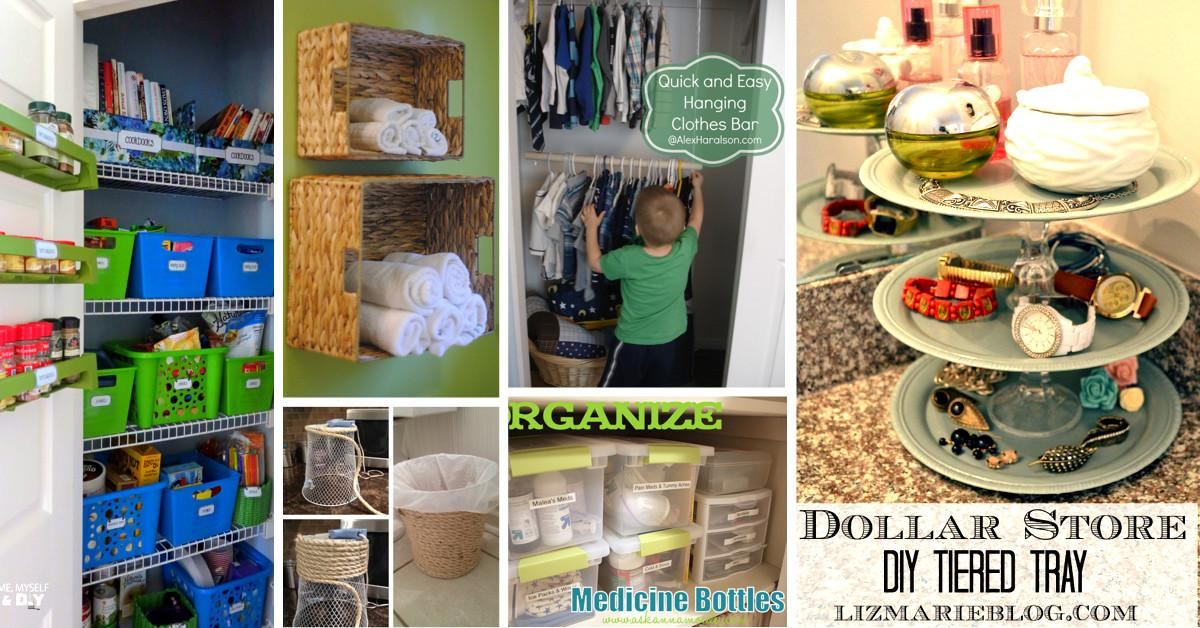 Mind Blowing Dollar Store Organizing Ideas Get Your