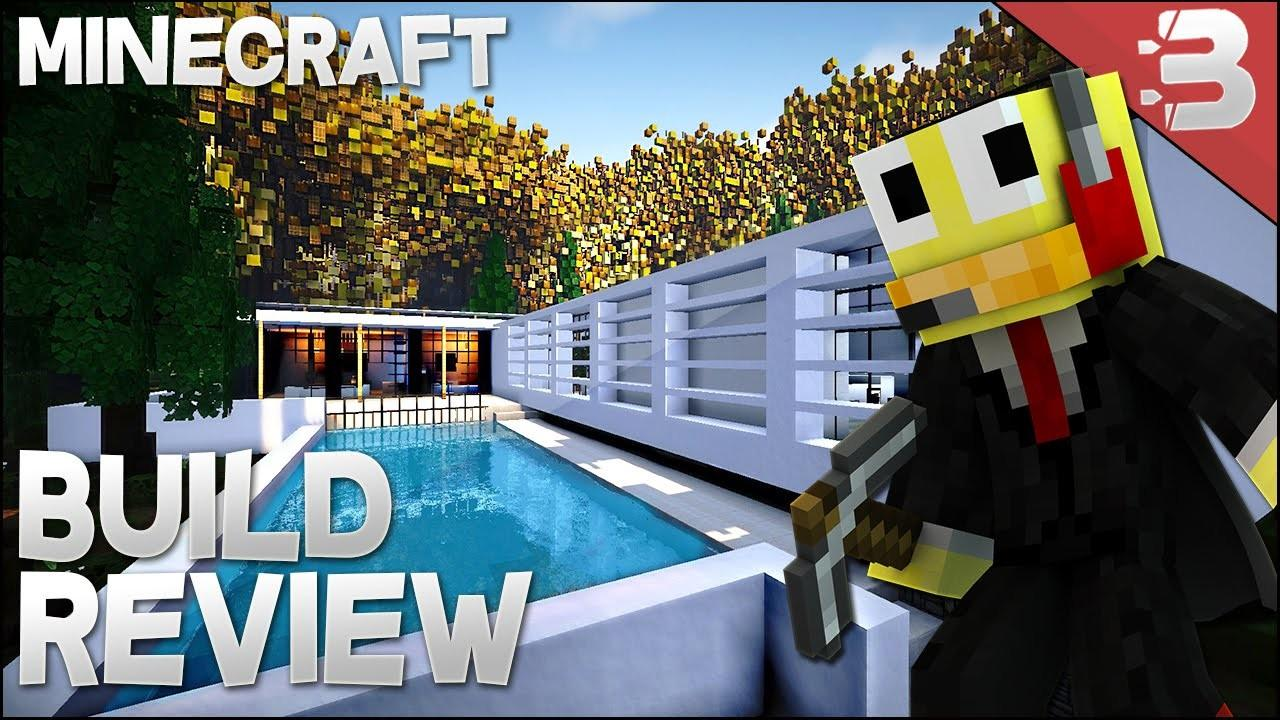 Minecraft Epic Modern House Forest Home