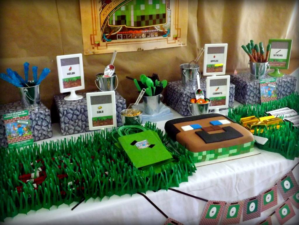 Minecraft Inspired Birthday Party Project Nursery