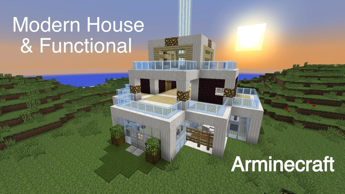 Minecraft Modern Functional House