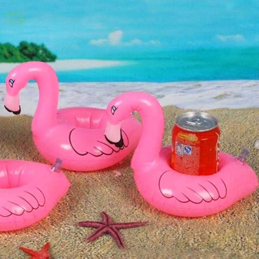Mini Flamingo Drink Can Cell Phone Holder Stand