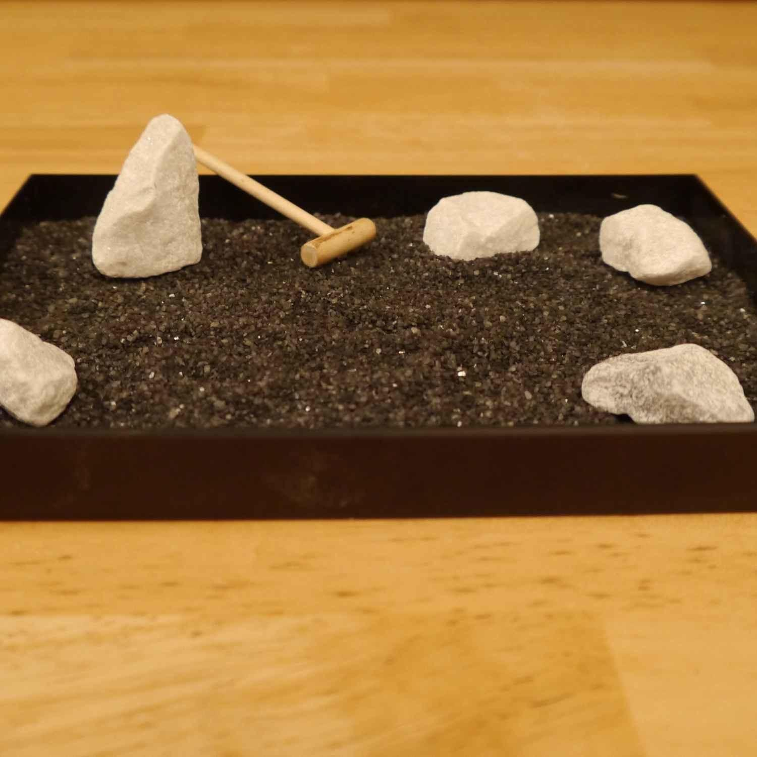 Mini Japanese Rock Garden Home Decoration Champsbahrain