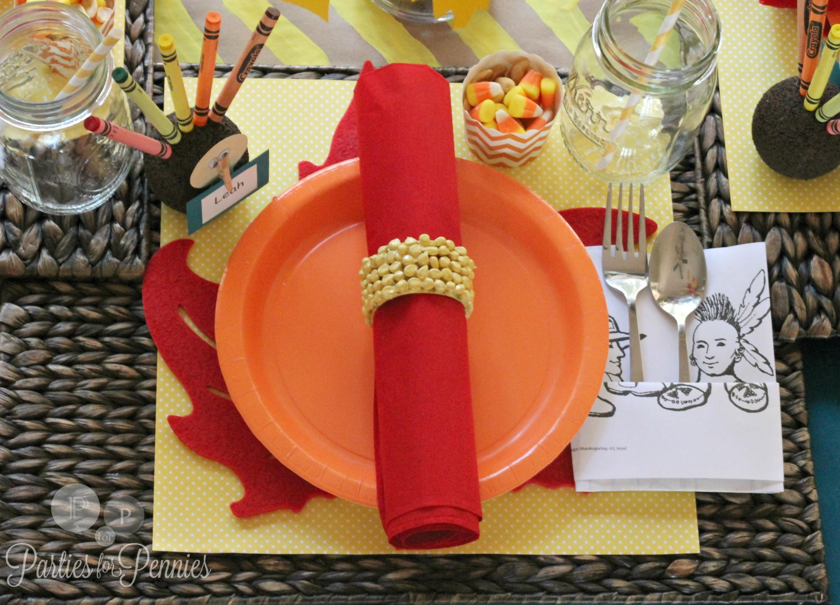 Mini Thanksgiving Decorating Ideas Kids Bow