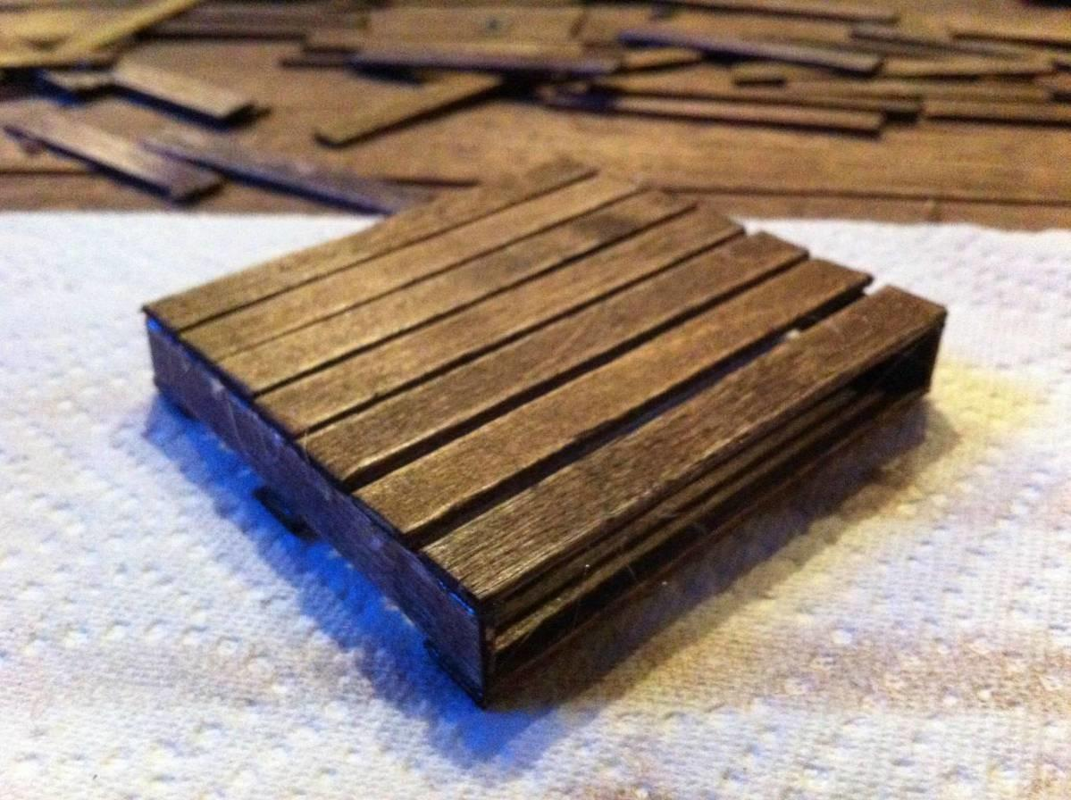 Mini Wooden Pallet Coasters Boing