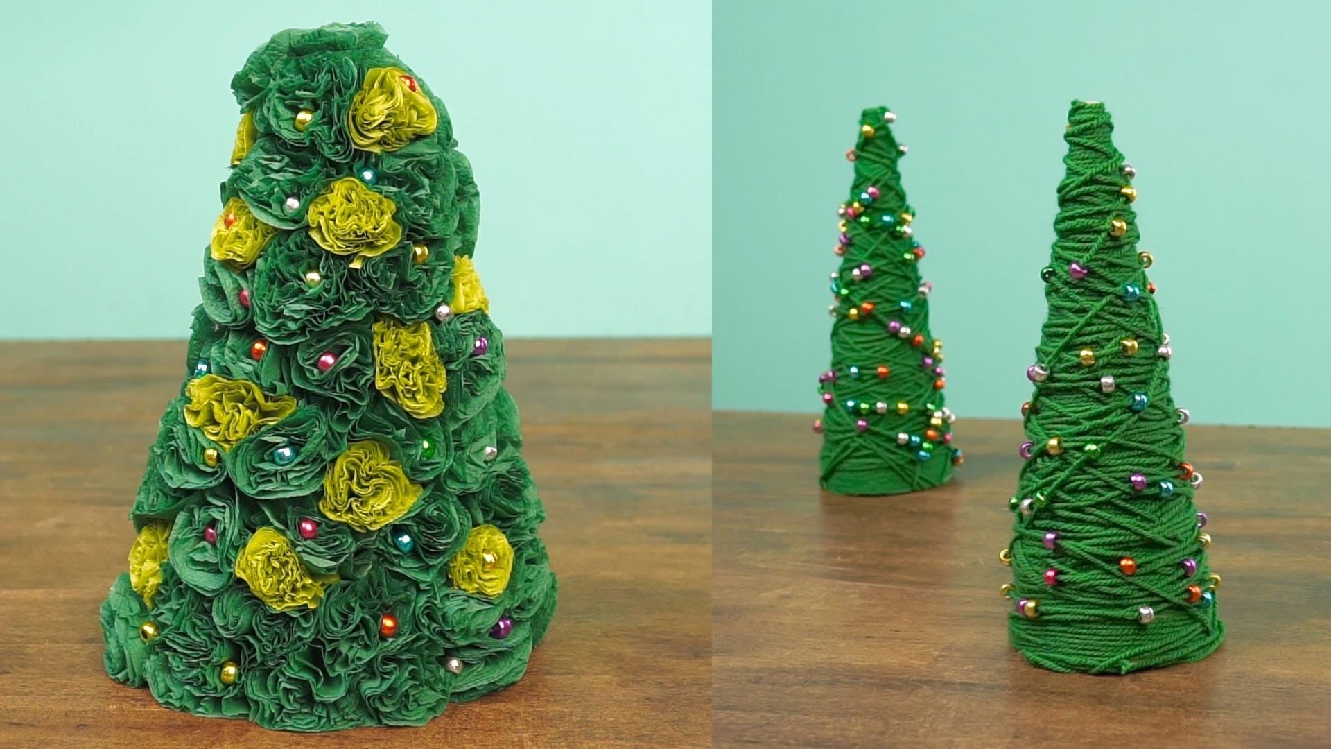 Miniature Christmas Tree Caft Diy Projects