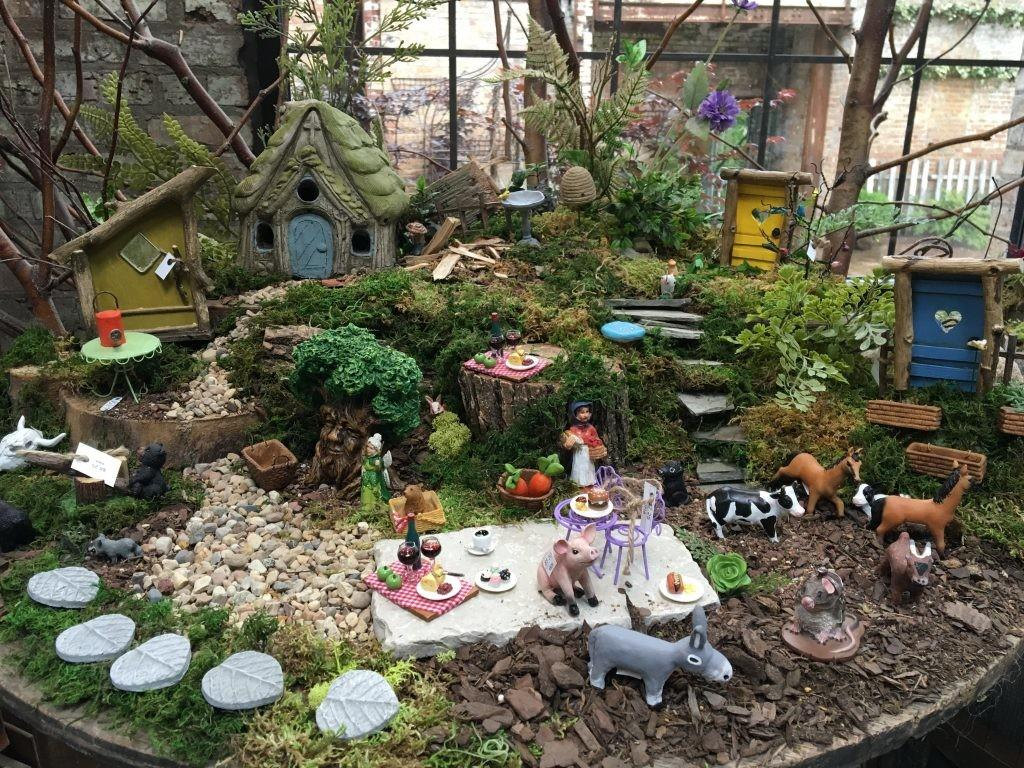 Miniature Garden Fairy Decor Blumen Gardens