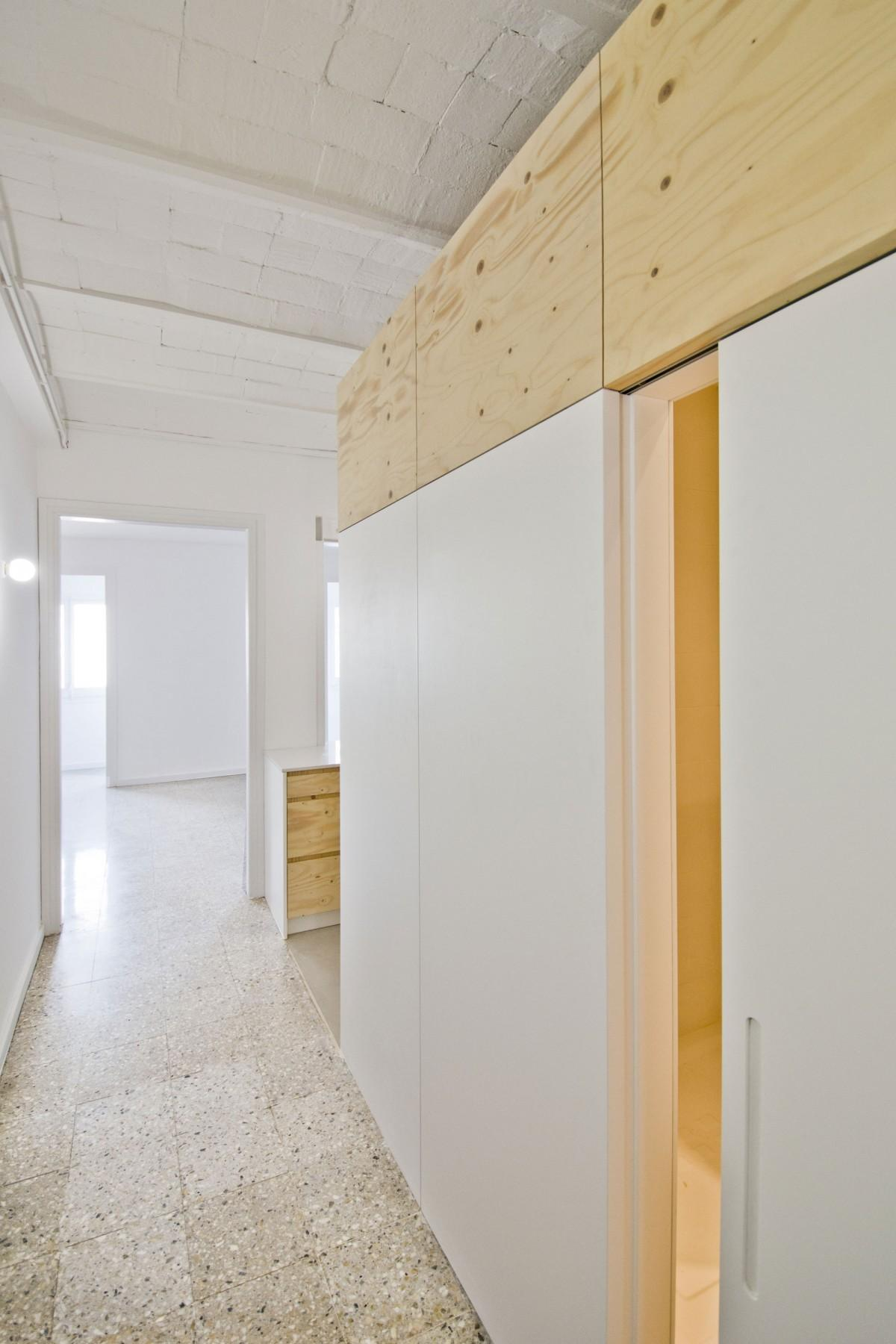 Minimal Apartment Renovation Barcelona Your