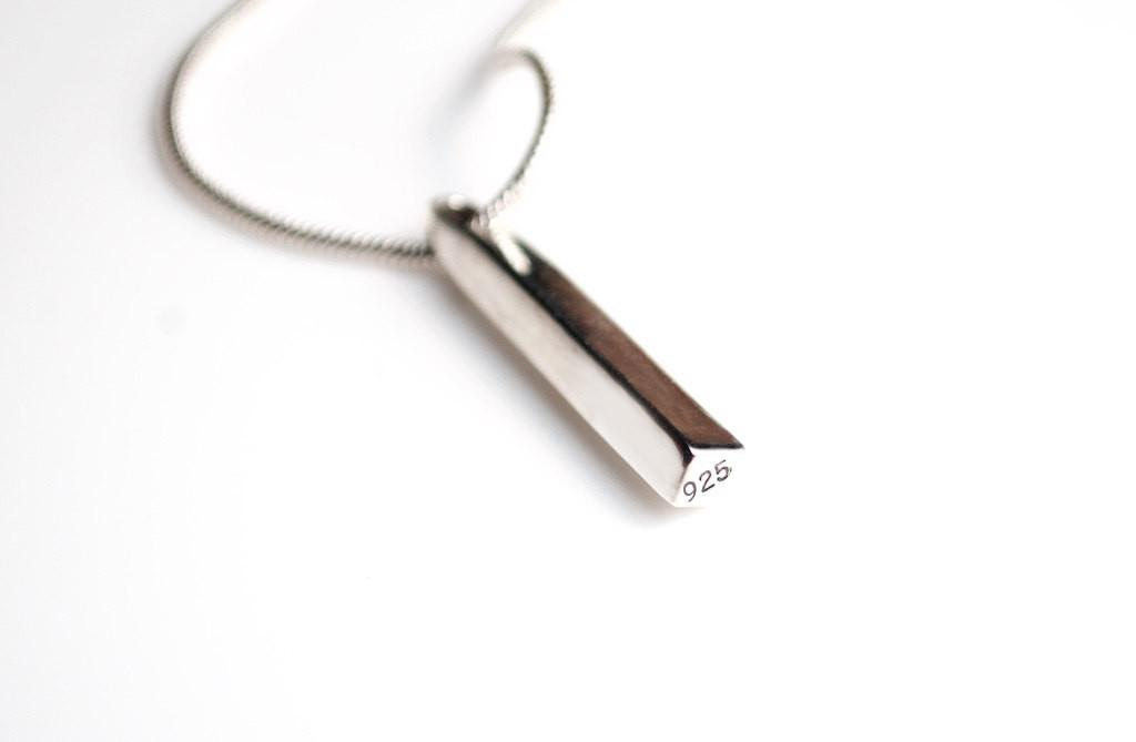 Minimal Bar Pendant Modern Simple