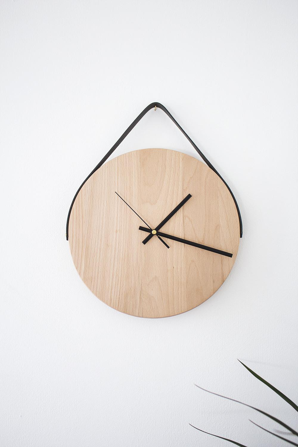 Minimal Diy Wall Clock Wonderfuldiy
